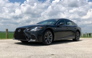 2018 Lexus LS 500 F Sport Review - 16
